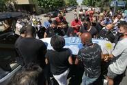Decenas de fans del Nacional dan último adiós al 'Morro' García