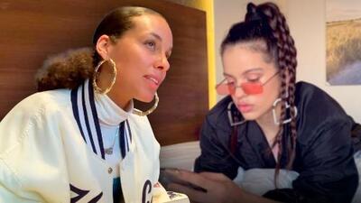 Para grabar con Farruko y Pedro Capó, Alicia Keys le pidió clases de español a la cantante Rosalía