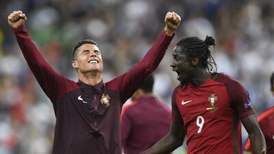 Éder: ''Cristiano me dijo que yo iba anotar el gol de la victoria''