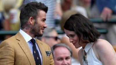 ¡Todo un Gentlemen! David Beckham también brilla en Wimbledon