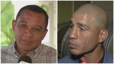 Tiraera entre Miguel Cotto y don Félix Trinidad