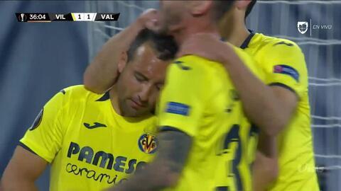 ¡GOOOL! Santi Cazorla anota para Villarreal