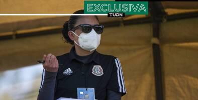 Mónica Vergara se visualiza campeona del mundo con el Tri Femenil