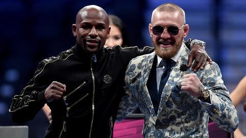 A un año de su pelea Mayweather y McGregor andan muy amigos