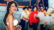 Revelan fotografía inédita de Selena acompañada de su familia