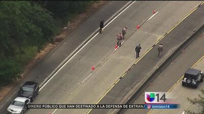 Se registra una balacera sobre la autopista 101 en California a plena luz del día