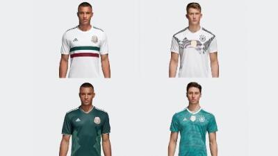 Confunde y reinarás: los parecidos razonables entre las playeras de Alemania y México