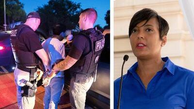 """""""No están solos"""": Alcaldesa de Atlanta envía mensaje de apoyo a comunidad inmigrante"""