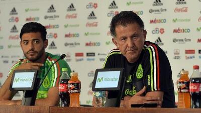 Carlos Vela agradeció y deseó éxito a Juan Carlos Osorio