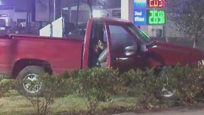 Buscan a un hombre que logró escapar tras una intensa persecución policial en Houston