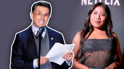 A Sergio Mayer le salió algo mal cuando trataba de defender a Yalitza Aparicio del racismo