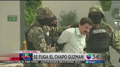 El Chapo Guzmán se escapó por segunda vez
