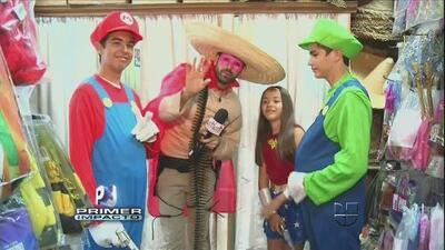 Jomari Goyso se fue con los 'Vazquez Sounds' para disfrazarse de super heroes
