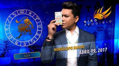 Niño Prodigio - Leo 19 de abril 2017