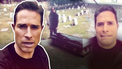Esta fue la escalofriante experiencia que Sebastián Rulli vivió en un cementerio cuando tuvo que meterse a un ataúd