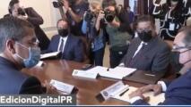 """""""Nombramiento de Elba Aponte"""", el tema ausente tras reunión entre Pierluisi y presidentes camerales"""