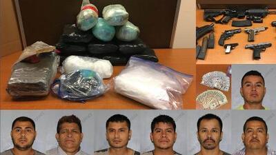 Operativo termina con millonario decomiso de droga y varios hispanos detenidos