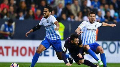 Barcelona cae ante el Málaga y pierde la ocasión de ser líder
