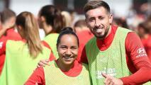Charlyn Corral y Héctor Herrera hablaron del orgullo mexicano