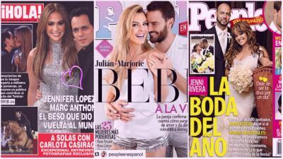 """""""Tu amor es un periódico de ayer"""": parejas que derramaron miel en portadas de revista y ya no están juntos"""