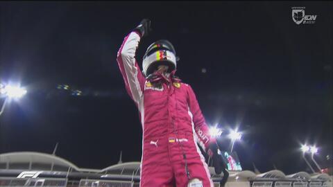 Vettel logró la 'Pole' y 'Chéco' Pérez saldrá 12vo en el GP de Baréin