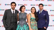 'Mi marido tiene familia' se reunió en Miami para ver el capítulo de estreno