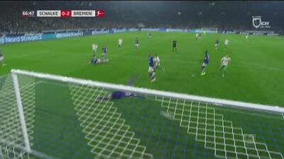 Schalke 0 - 2 Werder Bremen – Bundesliga, jornada ocho - Resumen completo