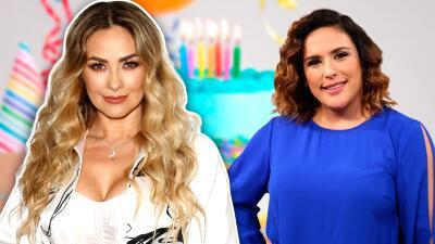 Aracely Arámbula felicita a Angélica Vale por su cumpleaños y recuerda sus tiempos de 'Soñadoras'