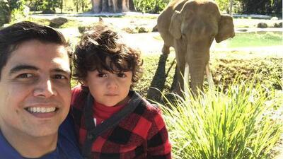 Detrás de cámaras: Orlando Segura vivió una aventura salvaje junto a su hijo Joshua