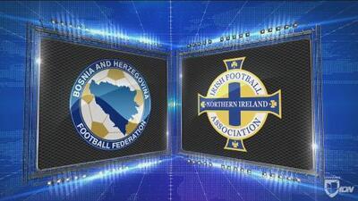 Bosnia 2-0 Irlanda del Norte - GOLES Y RESUMEN - Liga B - Grupo 3 - UEFA Nations League