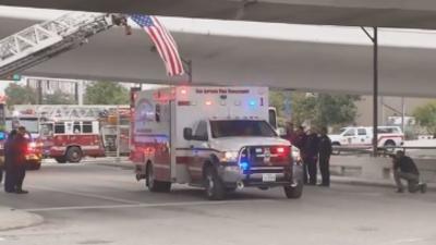 First responders honor fallen firefighter Greg Garza
