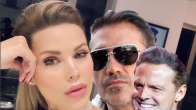 La novia de Luis Miguel ignora pleito millonario y se queda en casa de Alejandro Fernández
