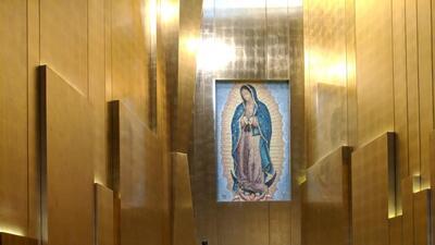 Los Ángeles le canta 'Las Mañanitas' a la Virgen de Guadalupe