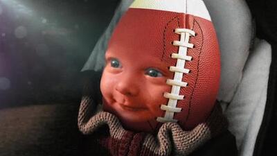 Un bebé predice resultados para la Semana 7 de la NFL