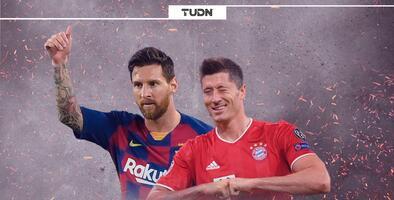 Messi y Lewandowski impusieron marcas históricas en Champions League