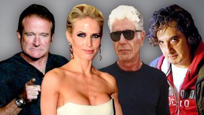 Estos son algunos famosos que se han suicidado a causa de la depresión