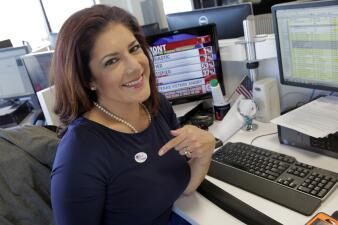 Personal de Univision Dallas ¡votaron!