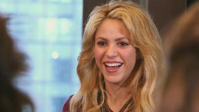 Shakira contagió a las chicas con su esencia musical y habló sobre su papel como madre