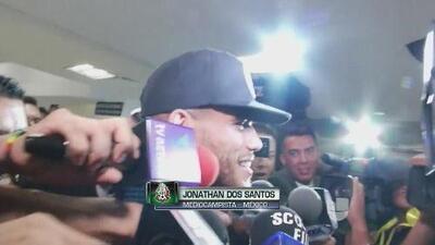 """Jona dos Santos, sobre Gio: """"Me pone feliz verlo en la selección y más estar con él"""""""