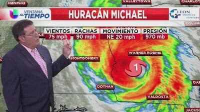 Emiten vigilancia por tornado para gran parte de Georgia y el norte de Florida