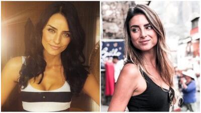 Aislinn Derbez tiene una doble que también es actriz y modelo