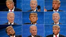 Experto analiza el lenguaje corporal de Trump y Biden durante el último debate