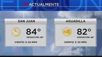Mejoran las condiciones del tiempo en Puerto Rico