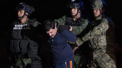 "Mexican drug kingpin ""El Chapo"" recaptured after gun battle"