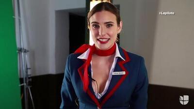 Macarena Achaga te invita a volar con ella en 'La Piloto'