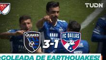 San Jose Earthquakes vence 3-1 a FC Dallas y Oswaldo Alanís marcó
