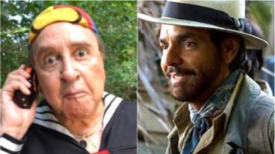 Eugenio Derbez encuentra a Kiko en la selva