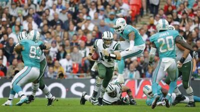 Jets 27-14 Dolphins: New York recobró la memoria en Londres y doblegó a Miami