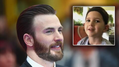 Capitán América invita a un niño salvadoreño que tiene un tumor para unirse a 'The Avengers' y esta es su respuesta
