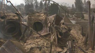 Evacuaciones en el condado Shasta por el incendio Carr